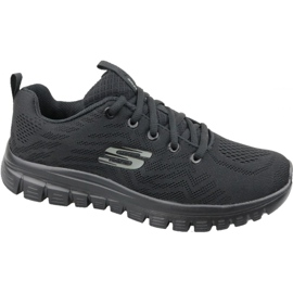 Skechers Graceful Get Connected W 12615-BBK schoenen zwart