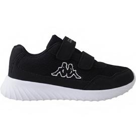 Zwart Kappa Cracker Ii Jr 260647K 1110 schoenen
