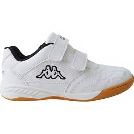 Kappa Kickoff Jr 260509K 1011 schoenen wit