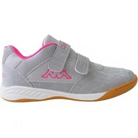Grijs Kappa Kickoff Jr 260509K 1522 schoenen