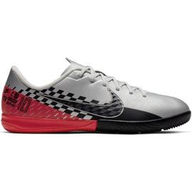 Nike Mercurial Vapor 13 Academy Neymar Ic Jr AT8139-006 indoorschoenen grijs grijs / zilver