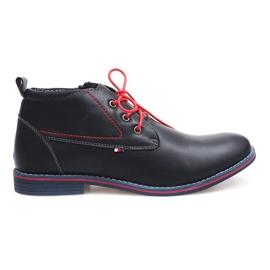 Hoge geïsoleerde schoenen 86105 Navy marine