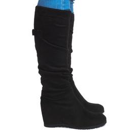 Laarzen Saszki Laarzen CN851 Zwart