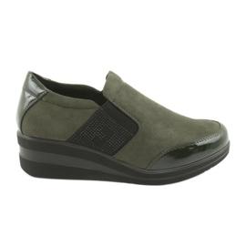 Wedge schoenen Sergio Leone 225 olijf