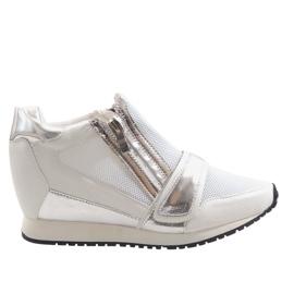Modieuze eenvoudige sneakers SK48 Wit
