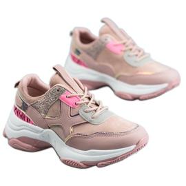 SHELOVET Modieuze sportschoenen roze