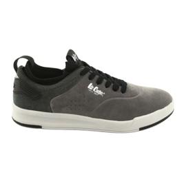 Lee Cooper 19-29-051B grijze schoenen