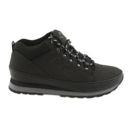 Lee Cooper winterschoenen voor heren 19-20-011 zwart