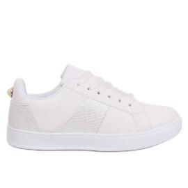 Witte X93 witte damessneakers