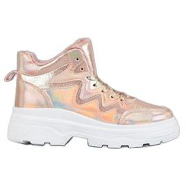 Seastar roze Geïsoleerde Sneakers