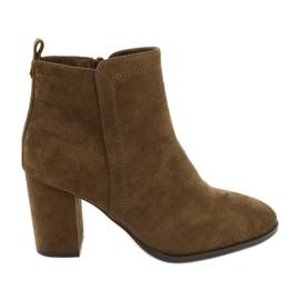 Sergio Leone 520 camel boots bruin