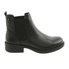 Zwarte laarzen Sergio Leone 552