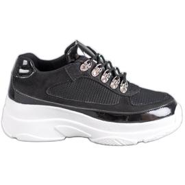 Marquiz Zwarte sportschoenen