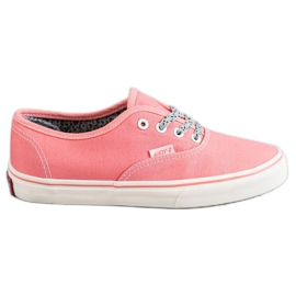 SHELOVET Comfortabele sneakers roze