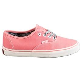 SHELOVET roze Comfortabele sneakers