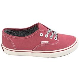 SHELOVET rood Comfortabele sneakers