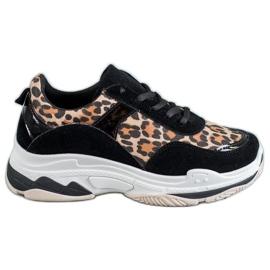 Kylie Sneakers met luipaardprint