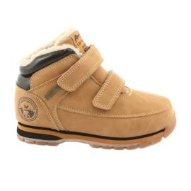 American Club Amerikaanse ES42 laarzen met klittenband