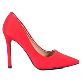 Diamantique rood Klassieke rode hoge hakken
