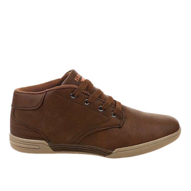 Bruine heren sneakers 15M787