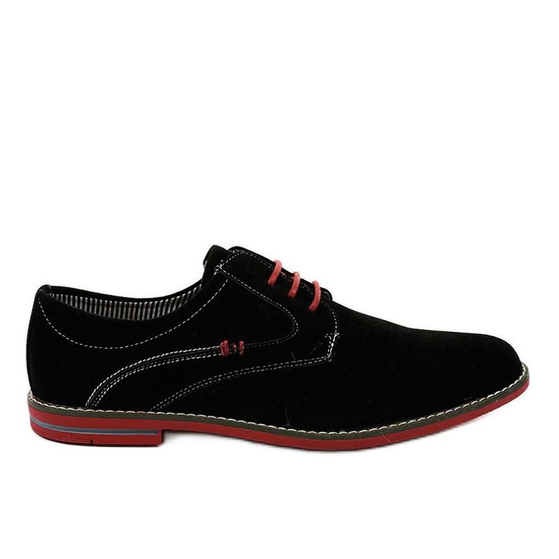 Zwarte elegante schoenen 6-688