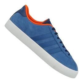 Blauw Adidas Vl Court Vulc M AW3963 schoenen