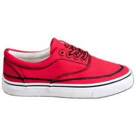Bestelle rood Modieuze sneakers