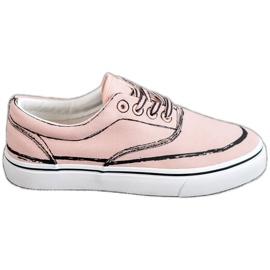 Bestelle roze Modieuze sneakers