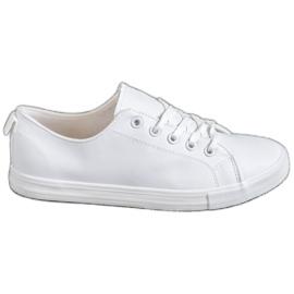 SHELOVET wit Comfortabele sneakers