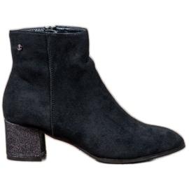 Filippo zwart Klassieke suède laarzen