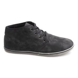 Modieuze hoge sneakers TL354 grijs