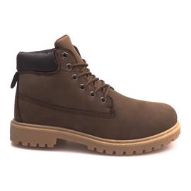 Geïsoleerde laarzen ZY1609-1 Bruin