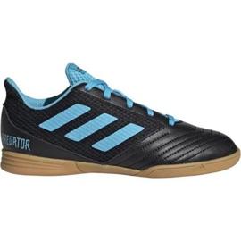 Adidas Predator 19.4 In Sala Jr G25830 indoorschoenen zwart zwart