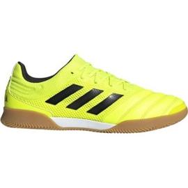 Adidas Copa 19.3 In Sala M F35503 indoorschoenen geel geel
