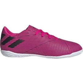 Indoorschoenen adidas Nemeziz 19.4 In Jr F99939 roze roze