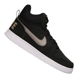 Zwart Nike Court Borough Mid M 838938-005 schoenen