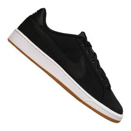 Zwart Nike Court Royale Canvas M AA2156-001 schoenen