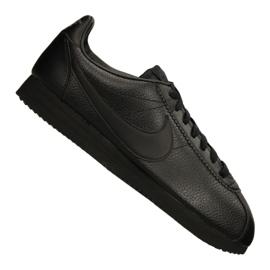 Zwart Nike Classic Leather M 749571-002 schoenen