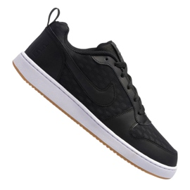 Zwart Nike Court Borough Low Se M 916760-003 schoenen