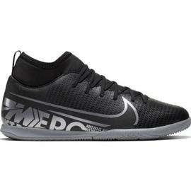 Nike Mercurial Superfly 7 Club Ic Jr AT8153-001 indoorschoenen zwart zwart
