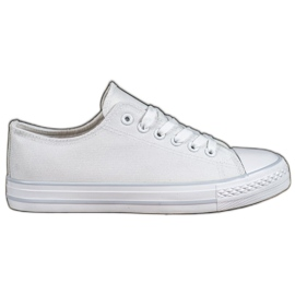 SHELOVET Witte sneakers