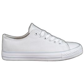 SHELOVET Witte sneakers