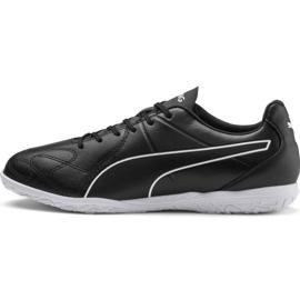 Puma King Hero It M 105673 01 indoorschoenen zwart zwart