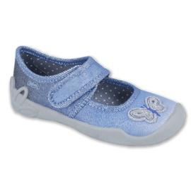 Blauw Befado kinderschoenen 123X035