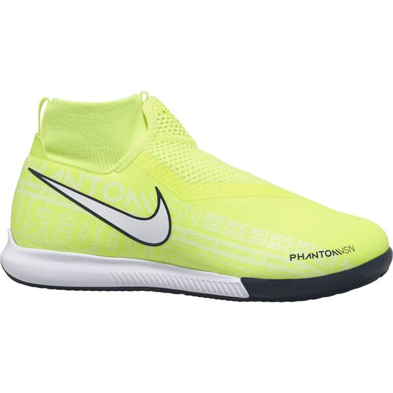 Indoorschoenen Nike Phantom Vsn Academy Df Ic Jr AO3290-717 geel geel