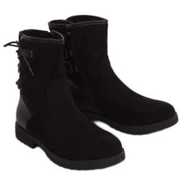 Zwarte geïsoleerde laarzen 8122 Zwart