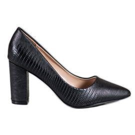 Diamantique Zwarte pumps