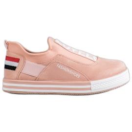 SHELOVET roze Slip Lovelo sneakers