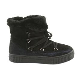 American Club Zwarte Eskimo-laarzen
