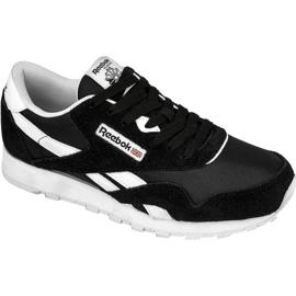 Zwart Reebok Classic Nylon Jr J21506 schoenen